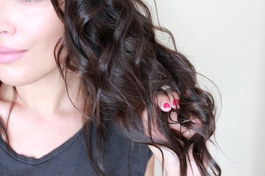 How to get long lasting curls with a lemon