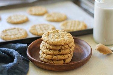 Peanut Butter Cookies From Scratch