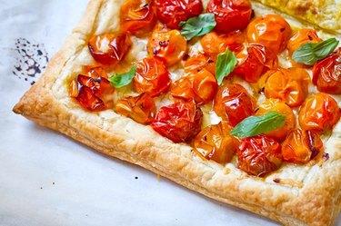 Five-Ingredient Spicy Tomato Tart