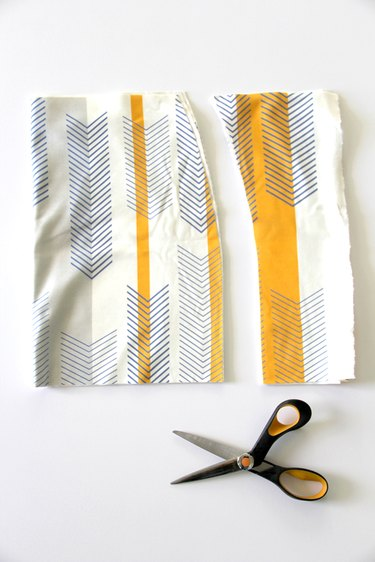 Cut out main skirt body pattern piece