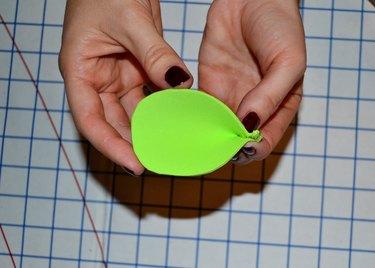 Step 8- Pinch to Create Ear Shape