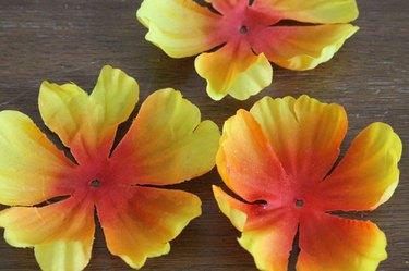 separate petals