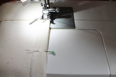 Sewing flag