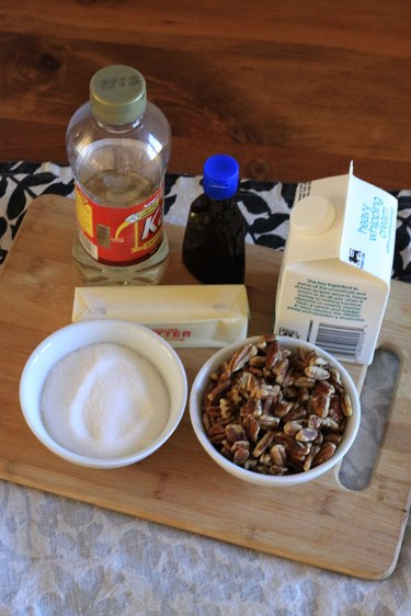 Ingredient for pecan topping