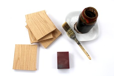 how to stain wood with coffee grounds