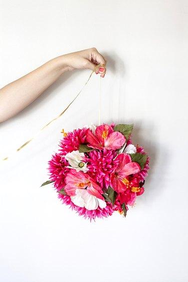 repeat additional flower balls