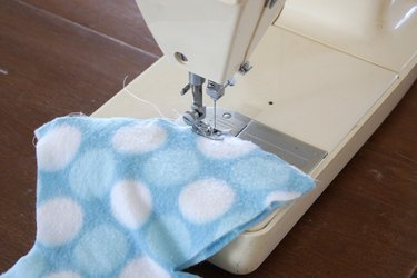 sew along pin lines