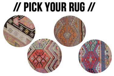 Pick your rug for your bedroom