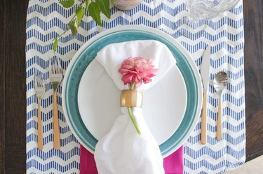 DIY Gold-Handled Flatware