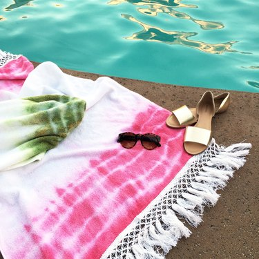 DIY Boho Towels