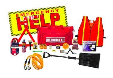 Winter emergency kit.