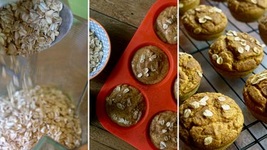 pumpkin maple blender muffins