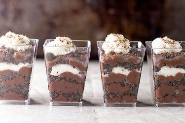 Chocolate Pudding Parfaits