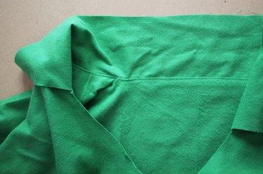 Sew an understitch at the neckline.
