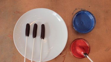 Red and Blue Chocolate