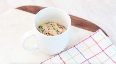cooked funfetti mug cake