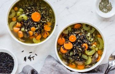 wild rice soup instant pot