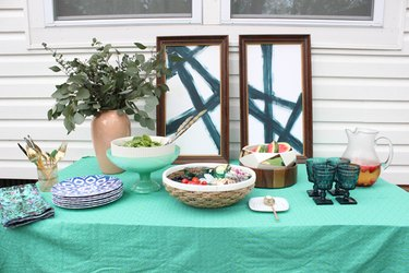 Keep your food cold at your next summer party by following these tips.