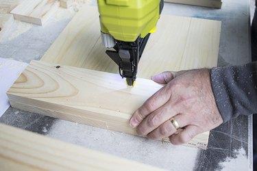 Brad Nailer and Wood Doors