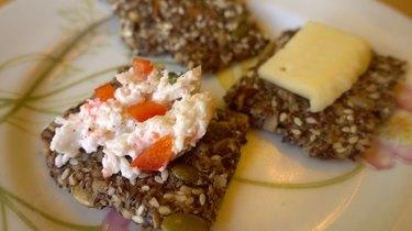 Healthy Seed & Nut Crispbread Cracker