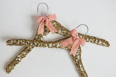 Two sequin hangers