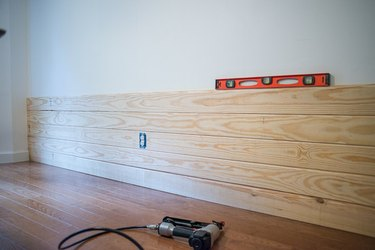 Keep adding planks to your wall.