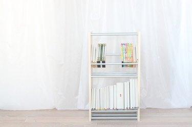 Book rack.