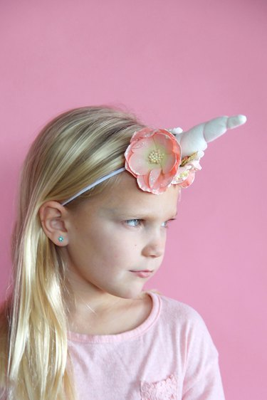 Make a Unicorn Headband with Free Sewing Pattern