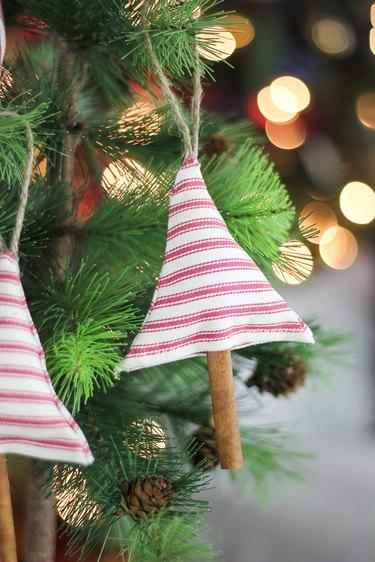 Scented cinnamon ornament.