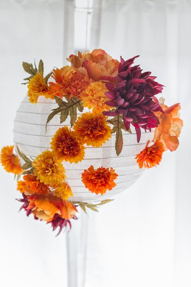 Fall paper lantern