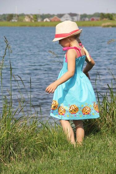 how to make an easy summer sundress