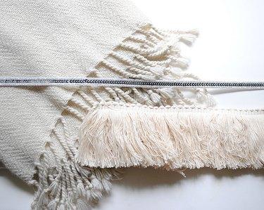 materials for Moroccan wedding blanket