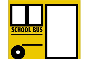 Illustration of the left side of the bus.