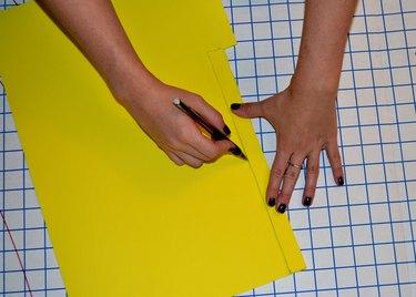 Step 1- Create 3 Foam Strips