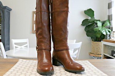 how to clean leather boots and shoes