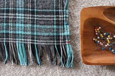 Plaid and Flannel Scarf DIY