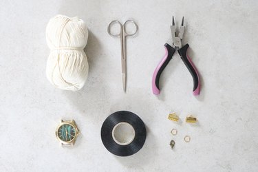 Materials for macrame watch strap