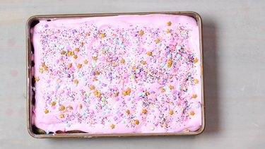 Unicorn Poke Cake