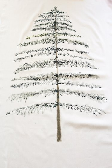 First layer of tree