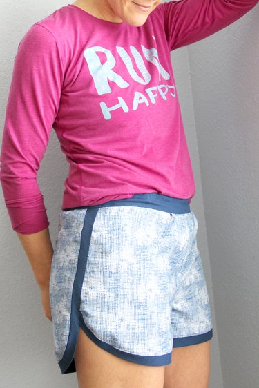 get active this summer in handmade gym shorts