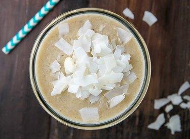 coconut cream pie smoothie