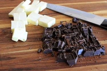 chocolate and butter