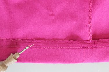 remove hem stitching