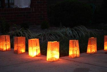 Glowing luminaries