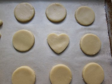 Transfer to a cookie sheet