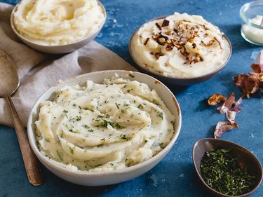 Three mashed potato recipes for Thanksgiving