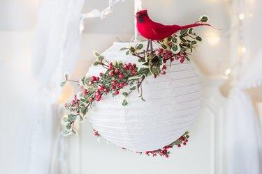 Christmas paper lantern