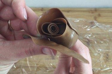 Adding petals