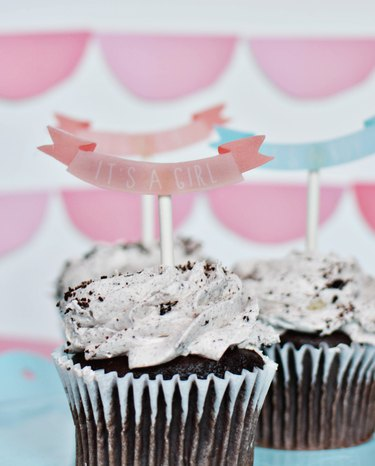 Make These Super Cute Shrinky Dink Cake Toppers