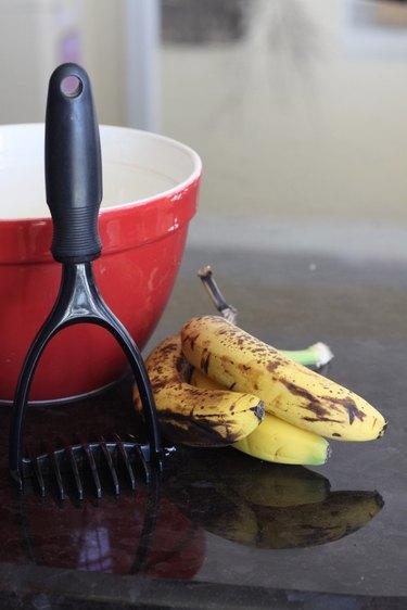 brown bananas for baking